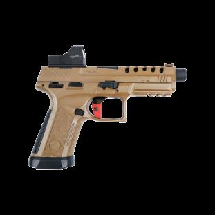 Pistola Girsan MC 9 Xtreme Barret Brown com Red Dot